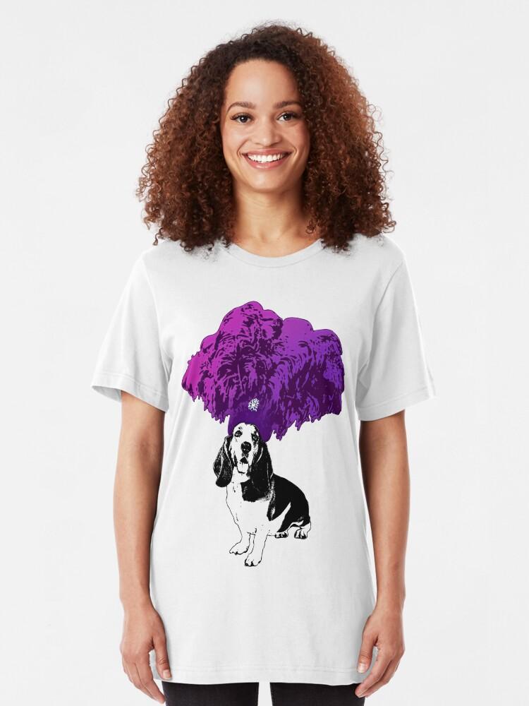 Alternate view of Showgirls Just Wanna Have Fun Slim Fit T-Shirt
