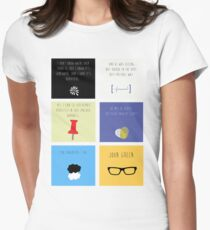 Last Words - John Green edition Women's Fitted T-Shirt