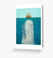 The Whale  Greeting Card