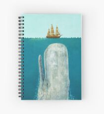 The Whale  Spiral Notebook