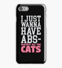 Absolutely All the Cats iPhone Case/Skin