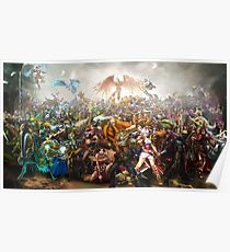 League of Legends - All Champions Poster
