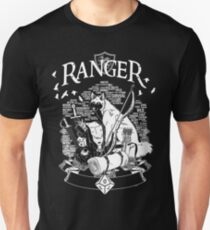 RPG Class Series: Ranger - White Version Unisex T-Shirt