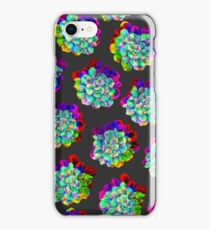 Glitched Succulents iPhone Case/Skin