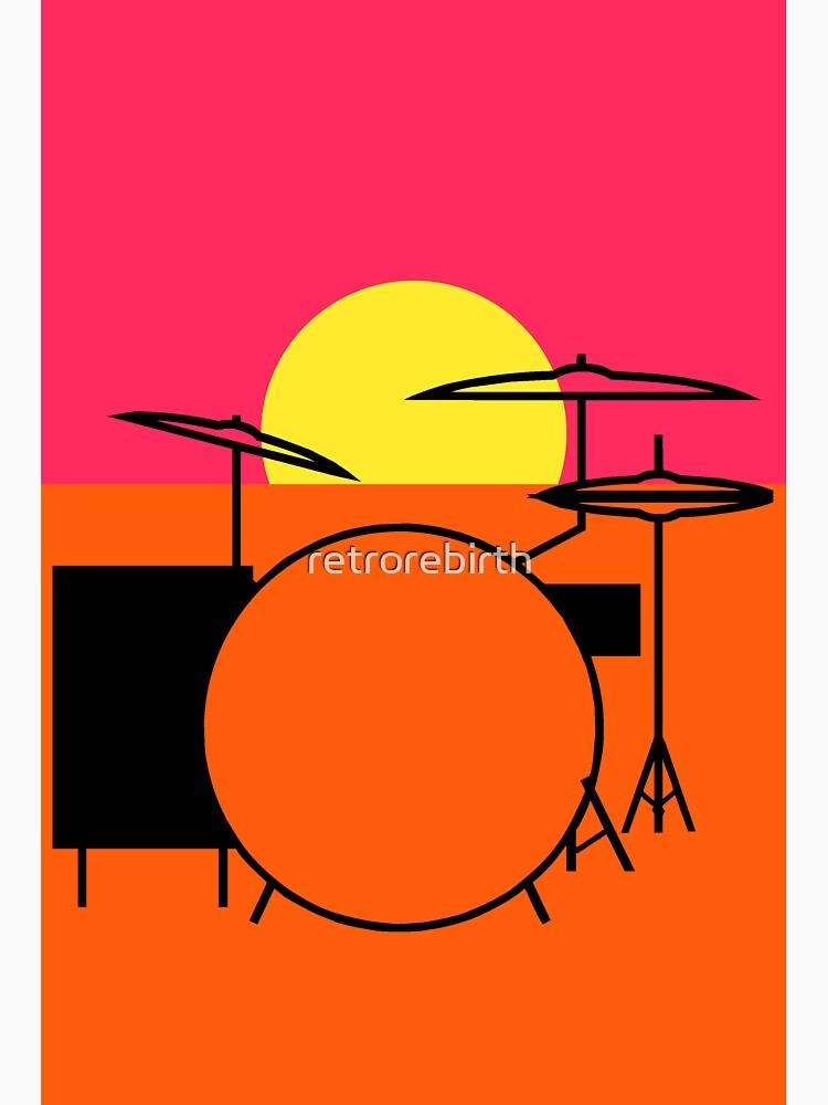 Pop Art Drums Endless by retrorebirth