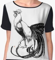 Longtail Rooster  Women's Chiffon Top
