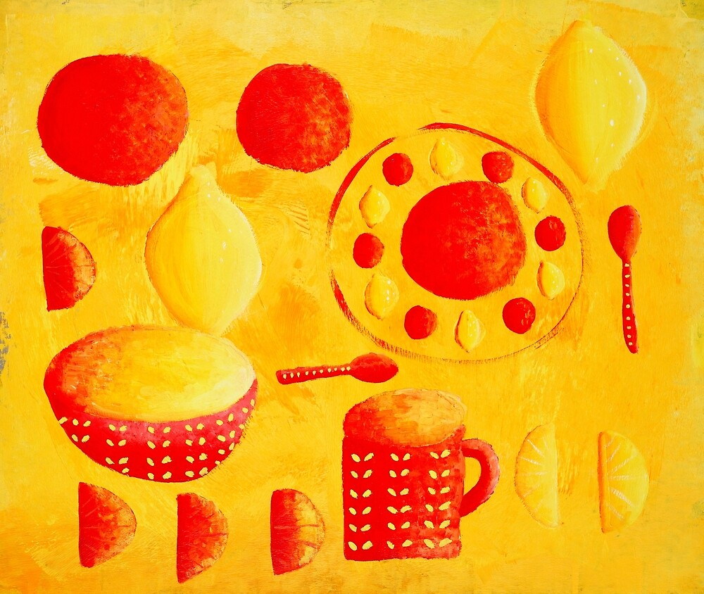Lemons and Oranges by Julie Nicholls