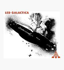 Led Galactica Photographic Print