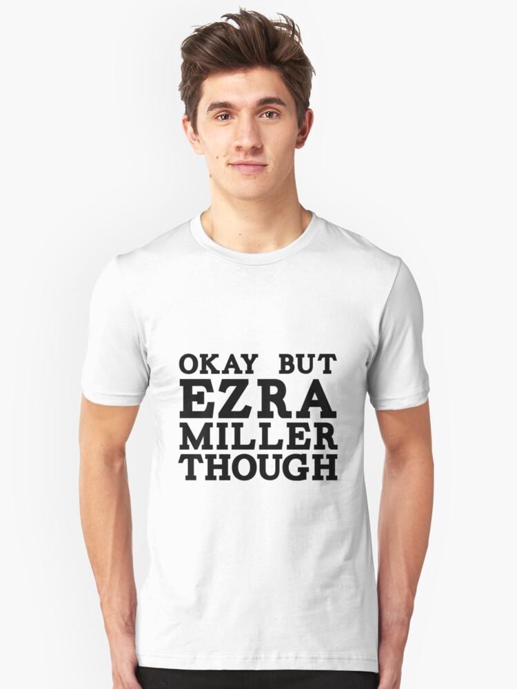 Ezra Miller Unisex T-Shirt Front