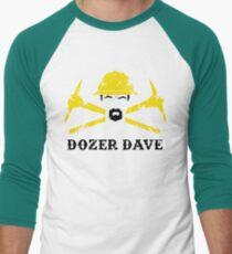 Dozer Dave Men's Baseball ¾ T-Shirt