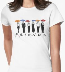 FRIENDS Hoodie  Womens Fitted T-Shirt