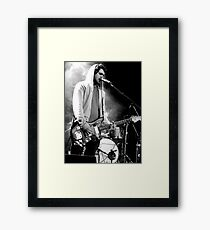 Brand New band Jesse Lacey Framed Print