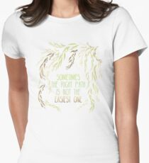 Grandmother Willow's Words Women's Fitted T-Shirt