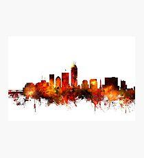 Indianapolis Indiana Skyline Photographic Print