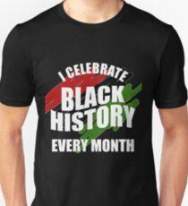 Celebrate Black History Month Unisex T-Shirt