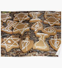 Chanukah Cookies Poster