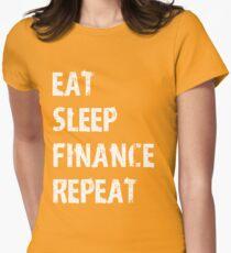 Eat Sleep Finance Repeat T-Shirt Gift For Accountant CPA T Shirt Tee  T-Shirt
