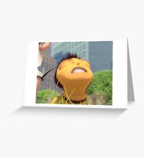 Honey NUT Cheerios, Barry Benson - Bee Movie Meme Greeting Card