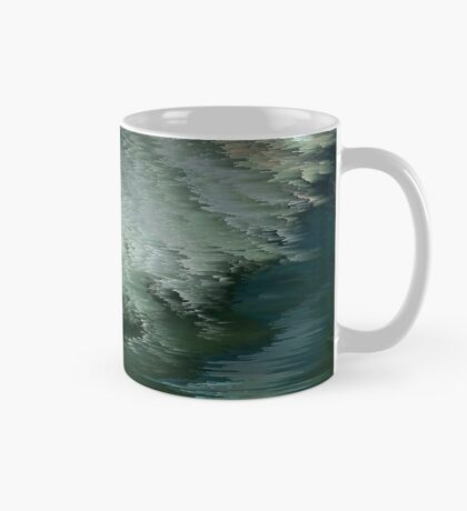 Green waves Mug