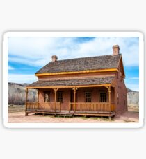 Russell Home - Grafton Ghost Town - Utah Sticker