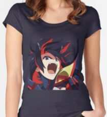 Ryuko Matoi (Kill La Kill) Women's Fitted Scoop T-Shirt