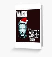 Walken Wanderland for Christmas!  Greeting Card