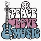 Peace, Love, Music by Lisann