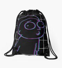 3D Morty Drawstring Bag