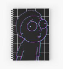 3D Morty Spiral Notebook