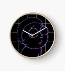 3D Morty Clock