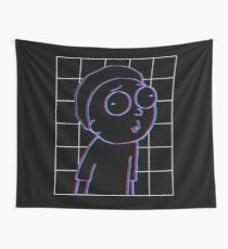 3D Morty Wall Tapestry