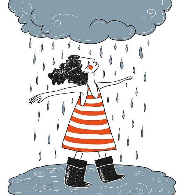 Happy when it rains by DariaNK