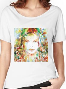 WATERCOLOR WOMAN.23 Women's Relaxed Fit T-Shirt