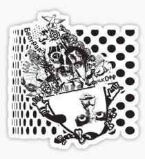 Polka Hermaphrodot Sticker