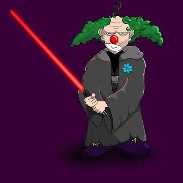 darth clown by jamesf23