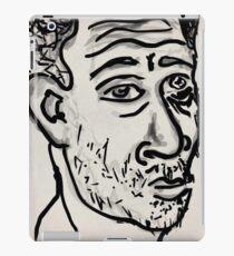 Self-portrait/(2 of 3) -(031014)- Digital artwork: Zen Brush iPad Case/Skin