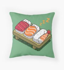 SUSHI Zzz Throw Pillow