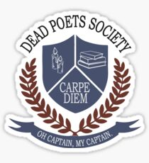 Dead Poets Society Sticker