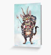 Krampus Kitty Grußkarte