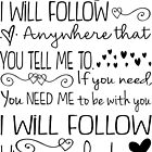 Where You Lead, I will Follow, Gilmore Girls Quote by Jandsgraphics