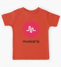 Musical.ly symbol Kids Tee