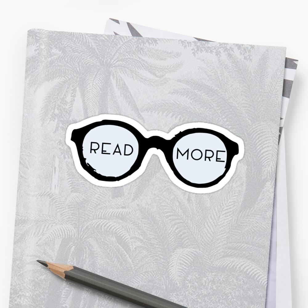 Lesen Sie mehr Gläser Sticker