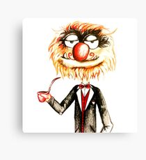 Suave Animal The Muppets  Canvas Print