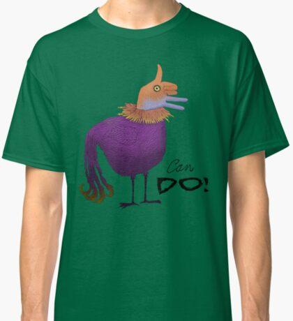 Can Do Thumbs Up Bird Classic T-Shirt