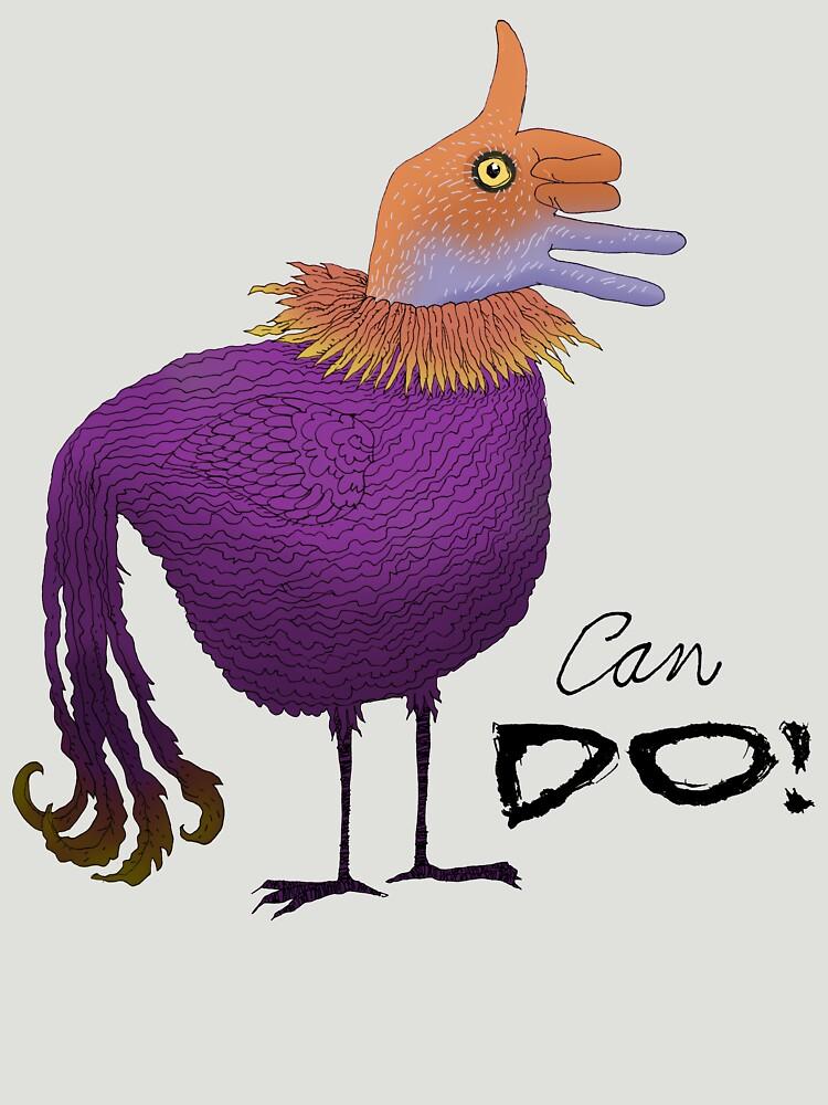 Can Do Thumbs Up Bird by SusanSanford