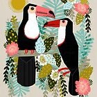 Toucans by Andrea Lauren  by Andrea Lauren