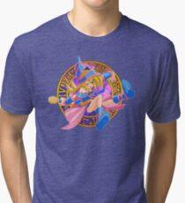 Toon Dark Magician Girl Tri-blend T-Shirt