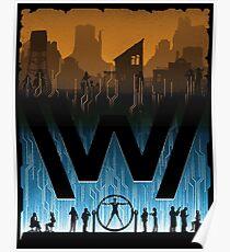 Go Between Worlds Poster