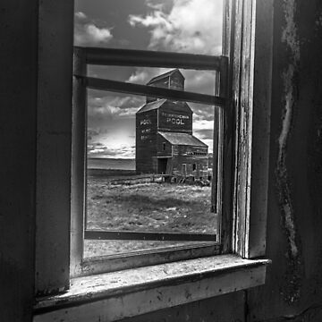 View from the General Store - BW by TheKav