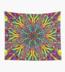 Crazy colors 3D mandala Wall Tapestry